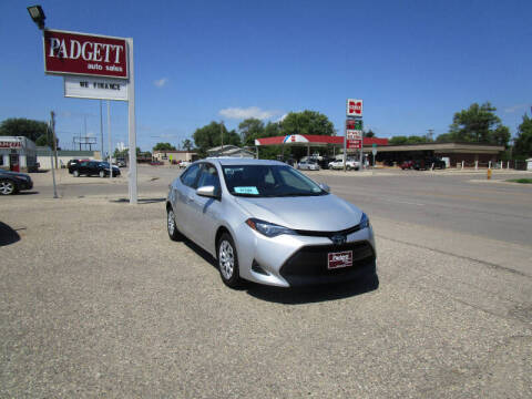 2019 Toyota Corolla for sale at Padgett Auto Sales in Aberdeen SD