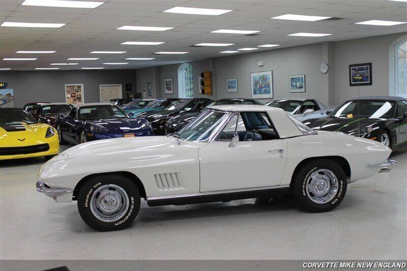 1967 Chevrolet Corvette for sale at Corvette Mike New England in Carver MA