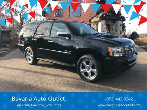 2013 Chevrolet Tahoe for sale at Bavaria Auto Outlet in Victoria MN