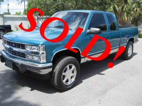 1994 Chevrolet C/K 1500 Series for sale at RPM Motors LLC in West Palm Beach FL