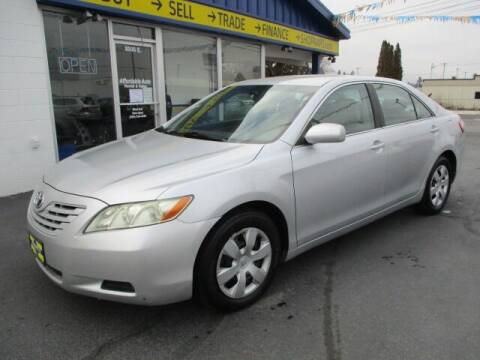 2008 Toyota Camry for sale at Affordable Auto Rental & Sales in Spokane Valley WA