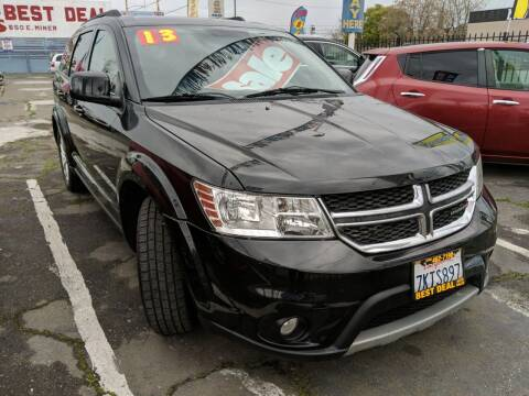 2013 Dodge Journey for sale at Best Deal Auto Sales in Stockton CA