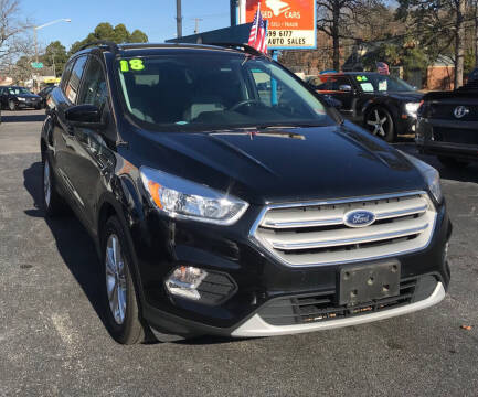2018 Ford Escape for sale at Dad's Auto Sales in Newport News VA