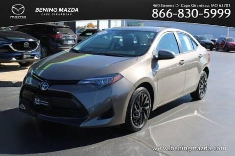 2018 Toyota Corolla for sale at Bening Mazda in Cape Girardeau MO