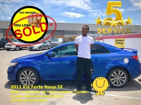 2011 Kia Forte Koup for sale at The Car Company in Las Vegas NV