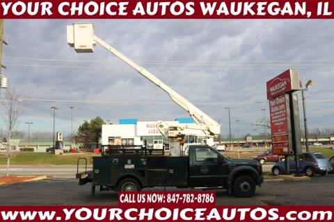 2009 Ford F-550 Super Duty for sale at Your Choice Autos - Waukegan in Waukegan IL