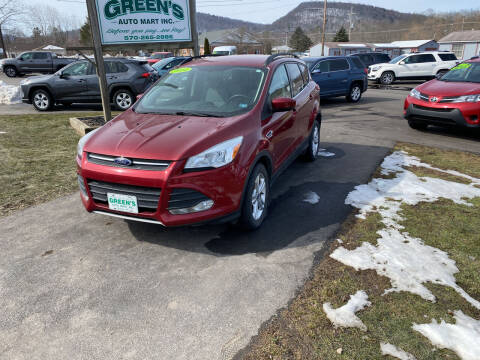 2014 Ford Escape for sale at Greens Auto Mart Inc. in Wysox PA