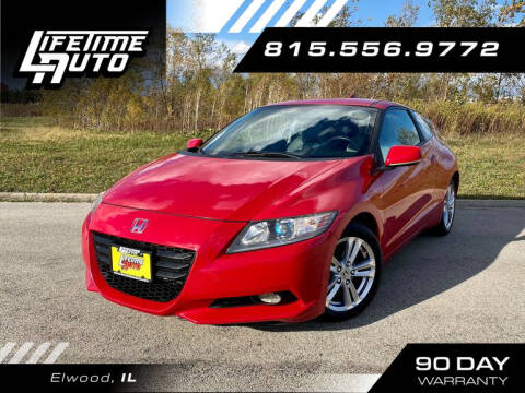 2011 Honda CR-Z for sale at Lifetime Auto in Elwood IL