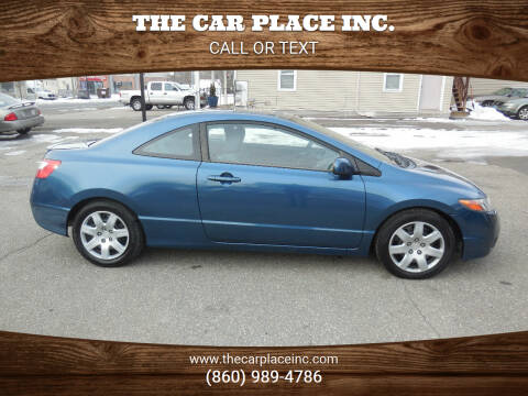 2006 Honda Civic for sale at THE CAR PLACE INC. in Somersville CT