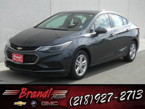 2017 Chevrolet Cruze for sale at Brandl GM in Aitkin MN