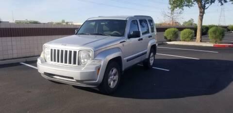 2012 Jeep Liberty for sale at Sooner Automotive Sales & Service LLC in Peoria AZ