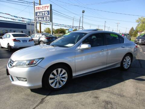 2013 Honda Accord for sale at TRI CITY AUTO SALES LLC in Menasha WI