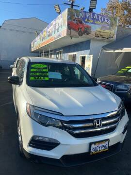 2017 Honda Pilot for sale at LA PLAYITA AUTO SALES INC - 3271 E. Firestone Blvd Lot in South Gate CA