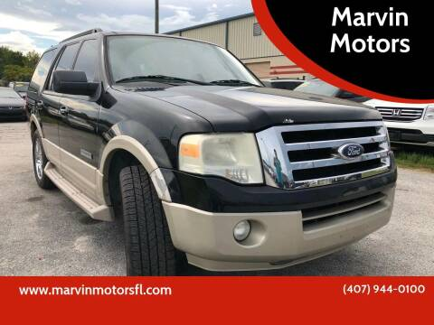 2008 Ford Expedition for sale at Marvin Motors in Kissimmee FL