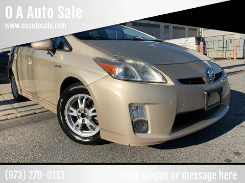 2010 Toyota Prius for sale at O A Auto Sale - O & A Auto Sale in Paterson NJ