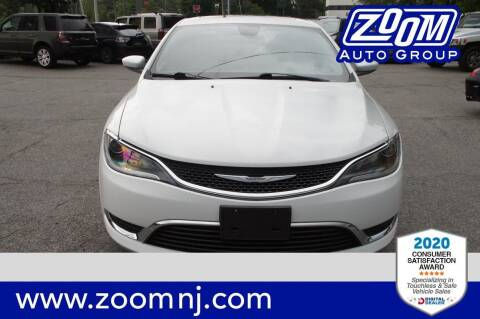2016 Chrysler 200 for sale at Zoom Auto Group in Parsippany NJ