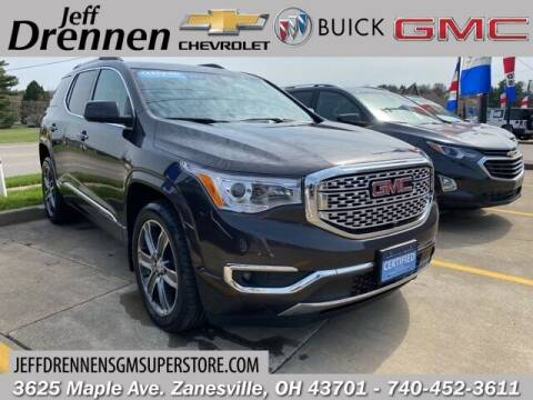 2018 GMC Acadia for sale at Jeff Drennen GM Superstore in Zanesville OH