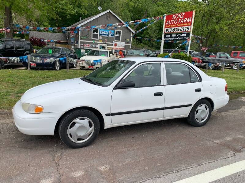 2002 Chevrolet Prizm for sale in Kansas City, KS