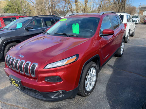 2014 Jeep Cherokee for sale at PAPERLAND MOTORS - Fresh Inventory in Green Bay WI