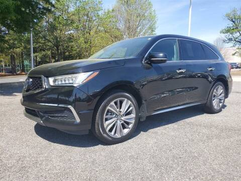 2017 Acura MDX for sale at Southern Auto Solutions - Acura Carland in Marietta GA