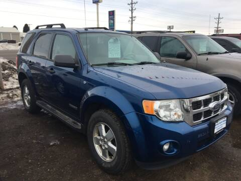 2008 Ford Escape for sale at BARNES AUTO SALES in Mandan ND