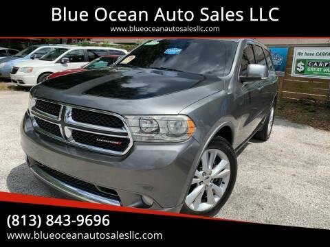 2012 Dodge Durango for sale at Blue Ocean Auto Sales LLC in Tampa FL