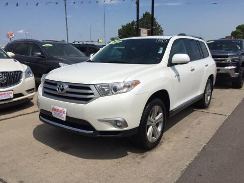 2012 Toyota Highlander for sale at De Anda Auto Sales in South Sioux City NE