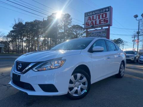2018 Nissan Sentra for sale at Carafello's Auto Sales in Norfolk VA