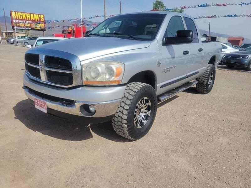 2006 Dodge Ram Pickup 2500 for sale at Bickham Used Cars in Alamogordo NM