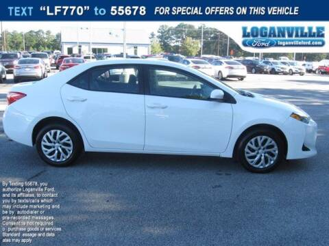 2019 Toyota Corolla for sale at Loganville Quick Lane and Tire Center in Loganville GA