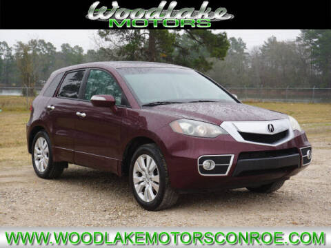 2010 Acura RDX for sale at WOODLAKE MOTORS in Conroe TX