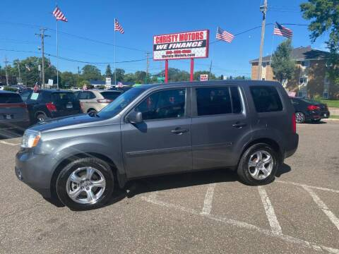 2012 Honda Pilot for sale at Christy Motors in Crystal MN