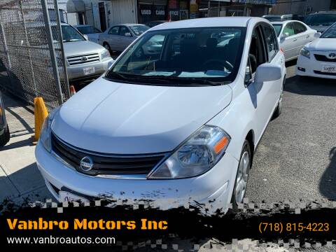 2010 Nissan Versa for sale at Vanbro Motors Inc in Staten Island NY
