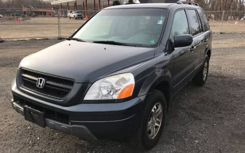 2005 Honda Pilot for sale at AUTO OUTLET in Taunton MA
