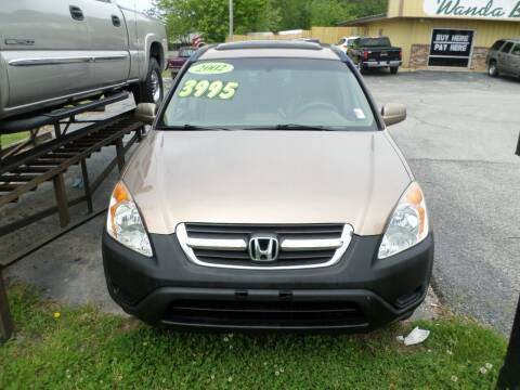 2002 Honda CR-V for sale at Credit Cars of NWA in Bentonville AR