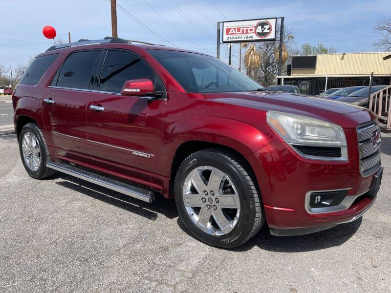 2015 GMC Acadia for sale at Auto A to Z / General McMullen in San Antonio TX