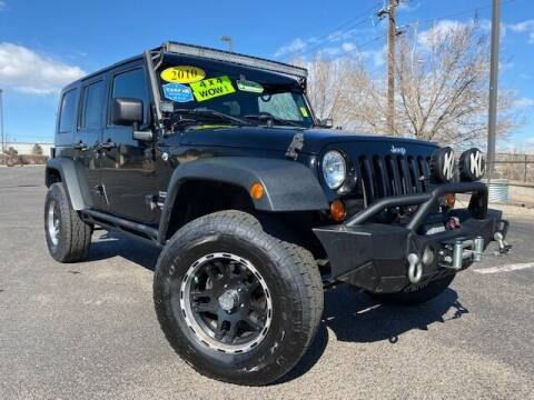 2010 Jeep Wrangler Unlimited for sale at UNITED Automotive in Denver CO