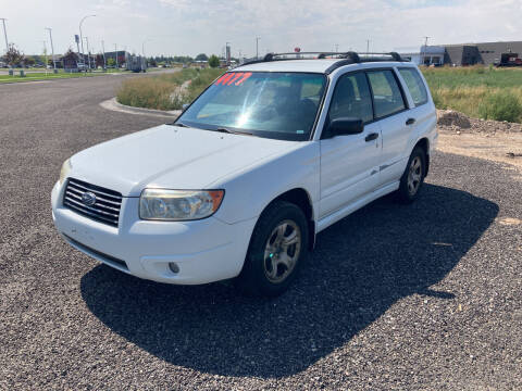 2006 Subaru Forester for sale at BELOW BOOK AUTO SALES in Idaho Falls ID