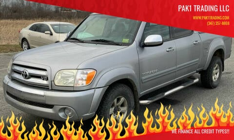 2005 Toyota Tundra for sale at Pak1 Trading LLC in South Hackensack NJ