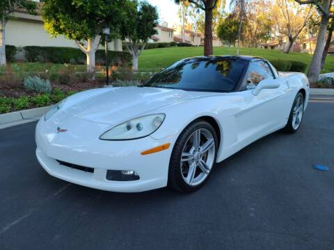 2007 Chevrolet Corvette for sale at E MOTORCARS in Fullerton CA