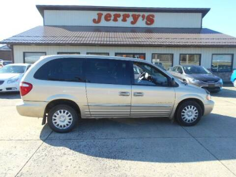 2001 Chrysler Town and Country for sale at Jerry's Auto Mart in Uhrichsville OH