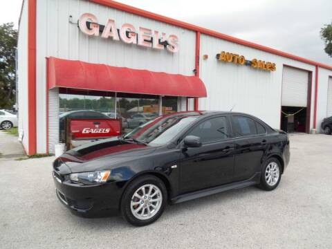 2013 Mitsubishi Lancer for sale at Gagel's Auto Sales in Gibsonton FL