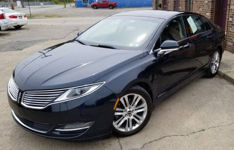 2014 Lincoln MKZ for sale at SUPERIOR MOTORSPORT INC. in New Castle PA
