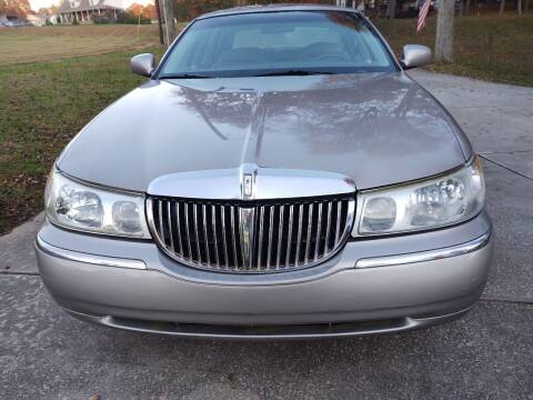 1999 Lincoln Town Car for sale at Lanier Motor Company in Lexington NC