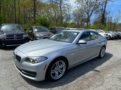 2012 BMW 5 Series for sale at Car Online in Roswell GA