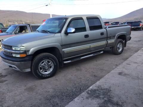 2002 Chevrolet Silverado 1500HD for sale at Troys Auto Sales in Dornsife PA