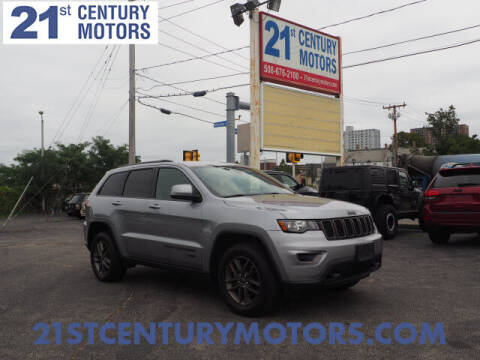 2016 Jeep Grand Cherokee for sale at 21st Century Motors in Fall River MA