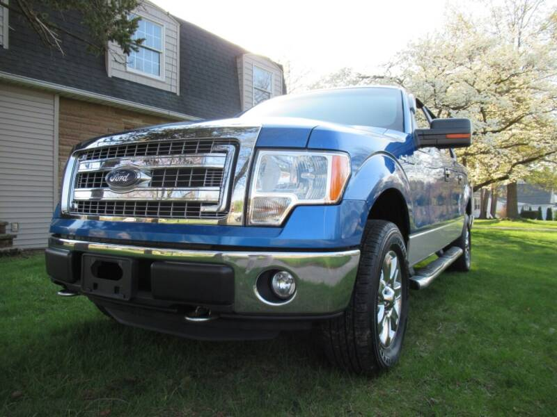 2013 Ford F-150 for sale at Lake County Auto Sales in Painesville OH