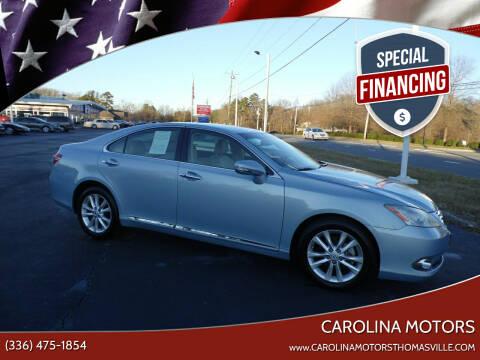 2011 Lexus ES 350 for sale at CAROLINA MOTORS in Thomasville NC