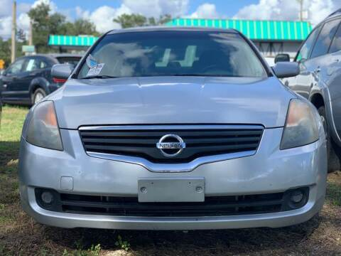 2007 Nissan Altima for sale at my USA motors - (Bad Credit? MYBUYHEREPAYHERE.com) in Brooksville FL